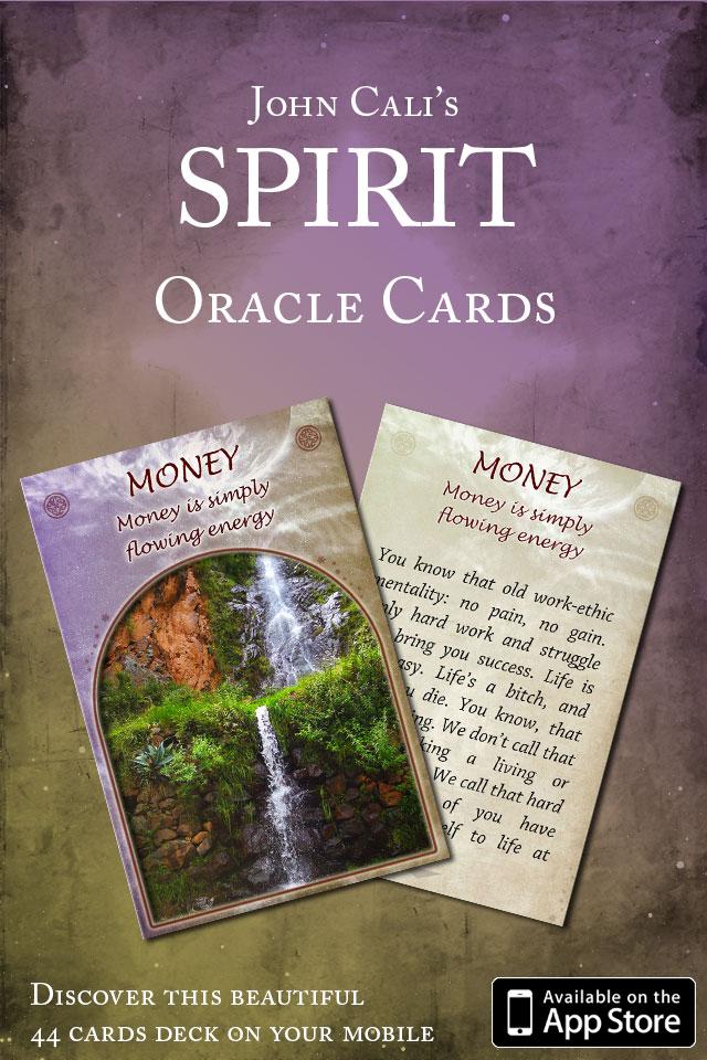 Spirit Oracle Cards reviewed in Spirit & Destiny Magazine