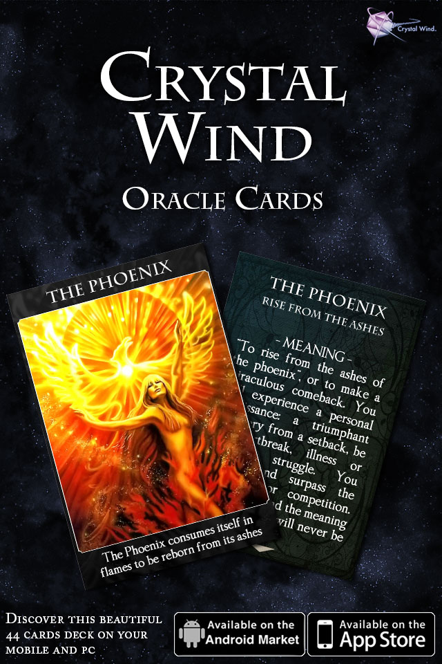 Crystal Wind Oracle Cards Released!