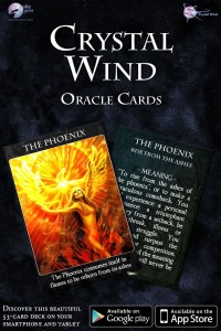 Crystal Wind Oracle Cards Mobile App for iPhone, iPad and Android