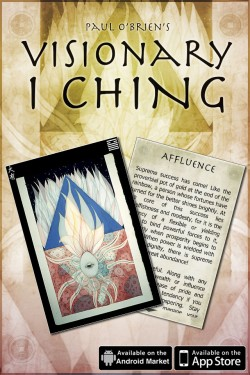 Visionary I Ching Oracle Cards Mobile App for iPhone, iPad and