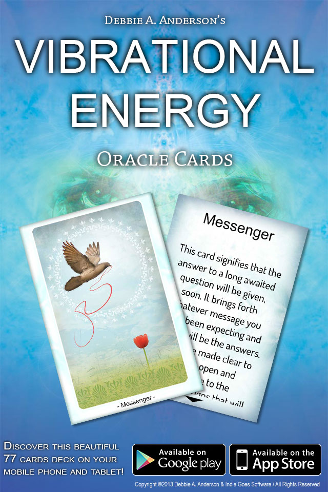 Vibrational Oracle Cards Released!