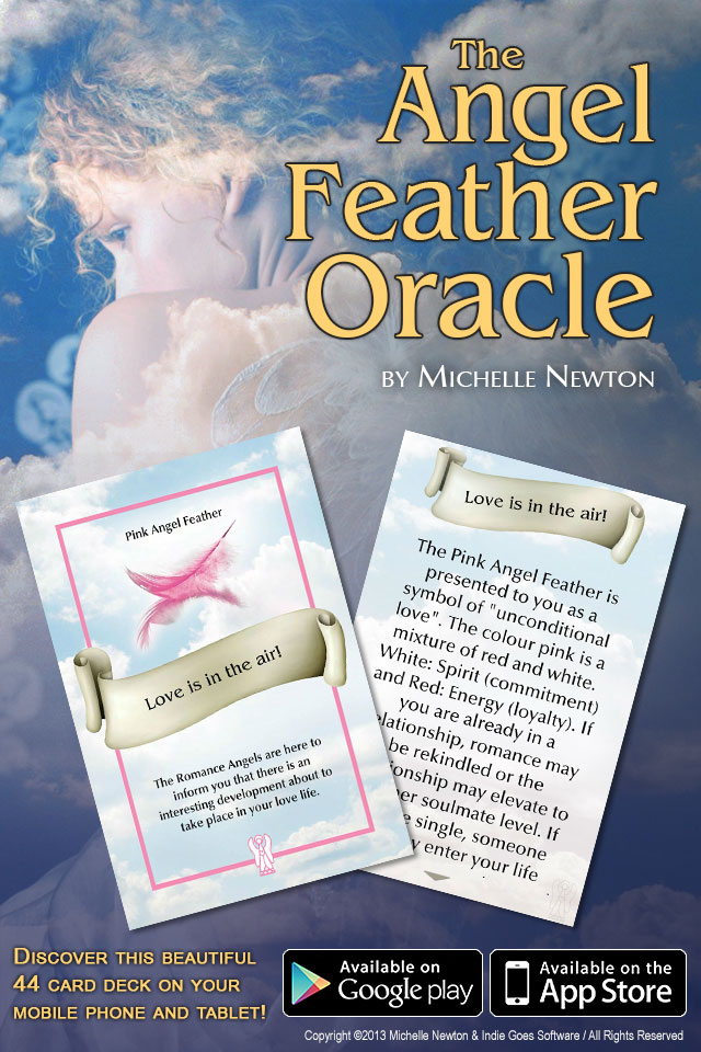 Angel Feather Oracle Cards released!