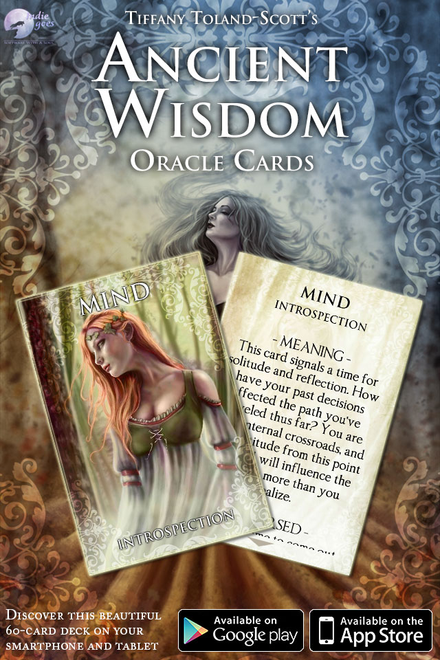 Ancient Wisdom Oracle Cards app released!