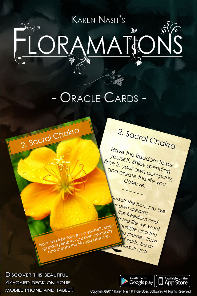 Floramations Oracle Cards Released!