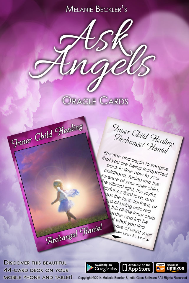 Ask Angels Oracle Cards Released!