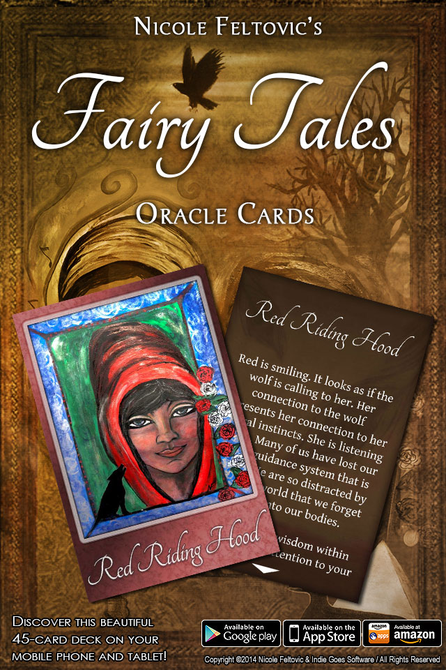 Fairy Tales Oracle Cards app released!