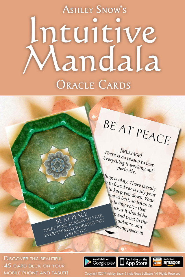 Intuitive Mandala Oracle Cards released!