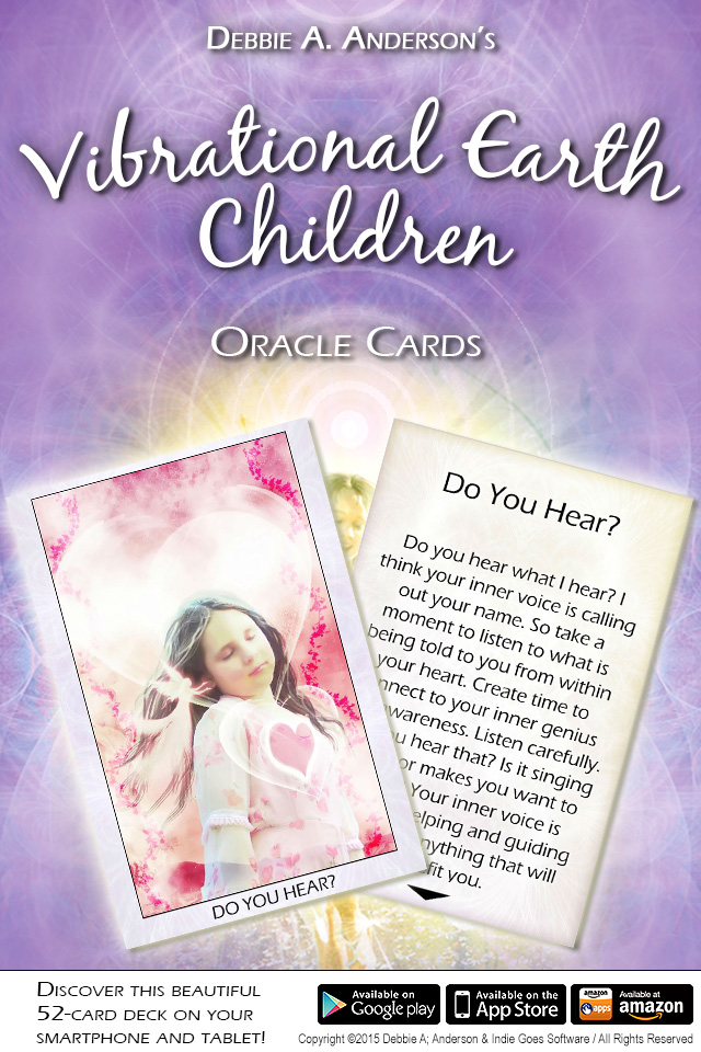 Vibrational Earth Children Oracle Cards Released!