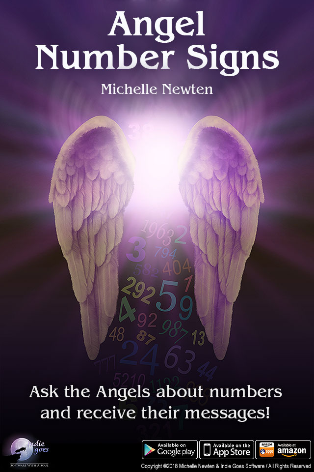 Angel Number Signs app now available on Android, iOS and Amazon!