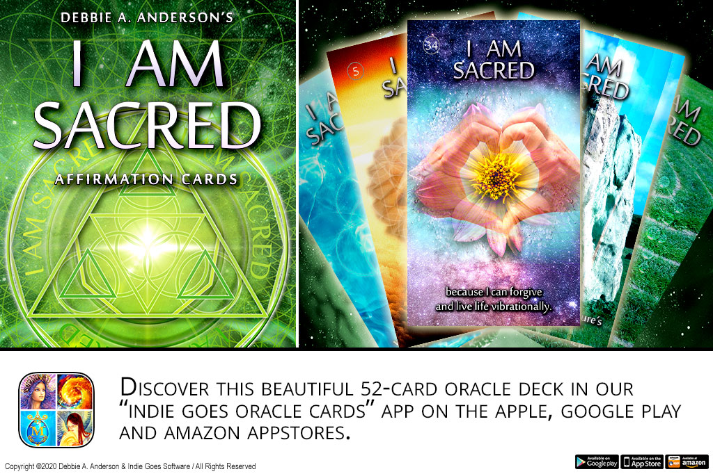I AM Sacred Affirmation Cards released!