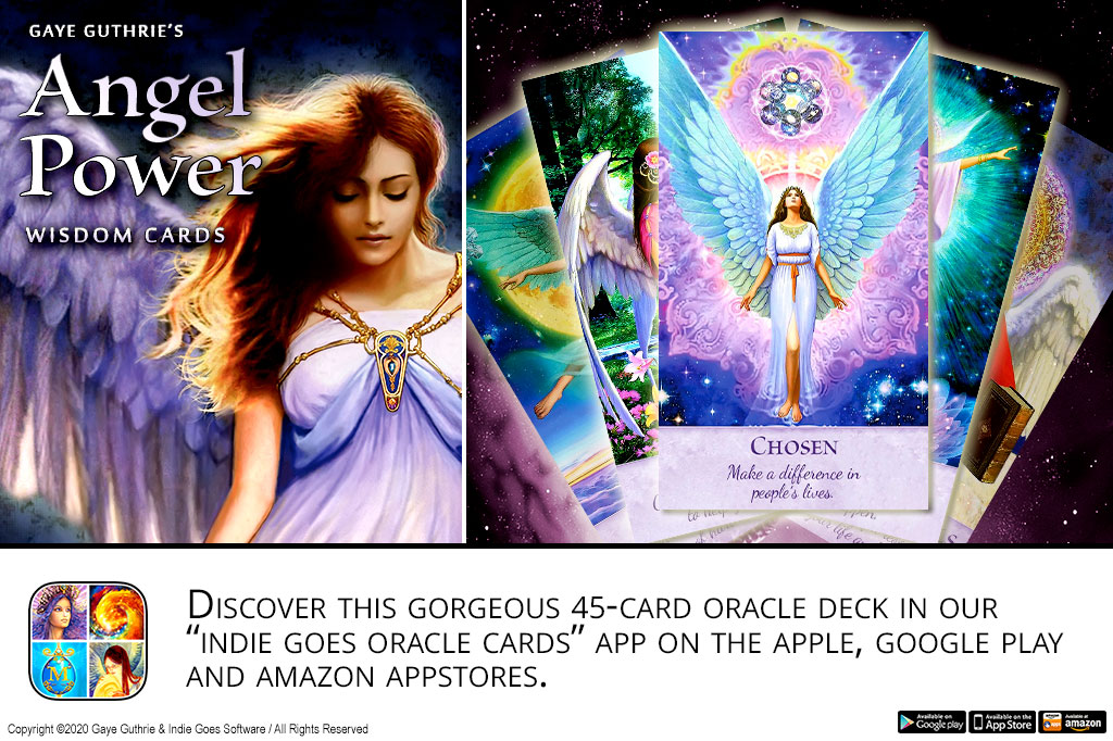 Angel Power Wisdom Cards released!
